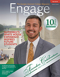 cover of Engage Fall 2015 magazine